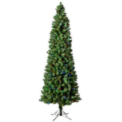 Austrian Pine 7' Pre-Lit Pencil Tree with Color Changing Lights.  Ends: Dec 20, 2014 2:00:00 PM CST