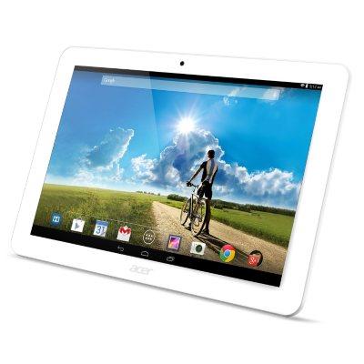"10.1"" Acer Iconia Tab 10 w/ Portfolio Case, White (16GB).  Ends: May 27, 2016 1:09:00 PM CDT"