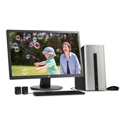 "HP Pavilion Desktop 550-177cb with 24"" Monitor Bundle, Intel Core i7-6700, 12 GB Memory, 1 TB Hard Drive, Windows 10.  Ends: Feb 11, 2016 10:00:00 PM CST"