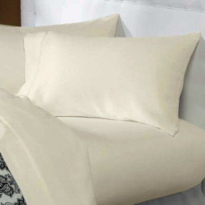 Christy Sheet Set - 450TC, Ivory, Twin.  Ends: Aug 23, 2014 2:35:00 PM CDT