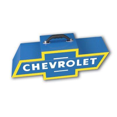 GOBOXES Chevrolet Logo Steel Tool Box
