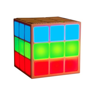 Mobi Cube Bluetooth Speaker with Light Show.  Ends: Apr 19, 2015 9:00:00 PM CDT