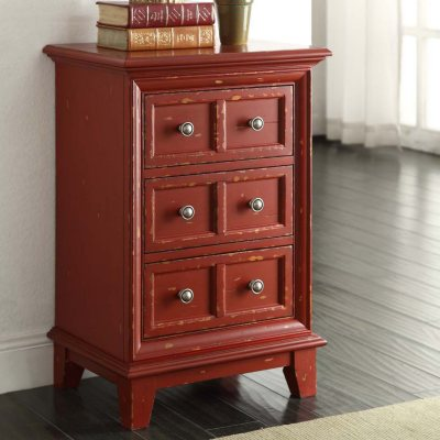 Easy Top Vera Distressed Finished Side Table