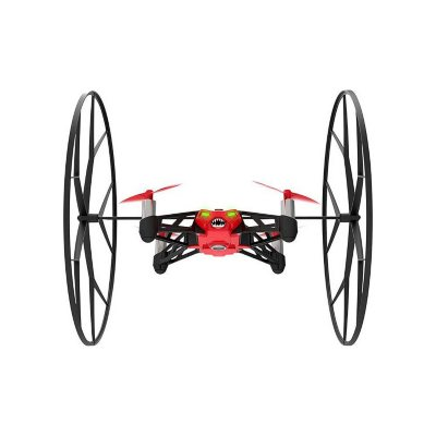 Parrot MiniDrone Rolling Spider, Red.  Ends: May 6, 2016 12:25:00 AM CDT