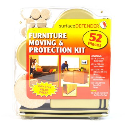 Surface Defender Furniture and Moving Protection Kit (52 pc.).  Ends: Mar 10, 2014 1:15:00 AM CDT