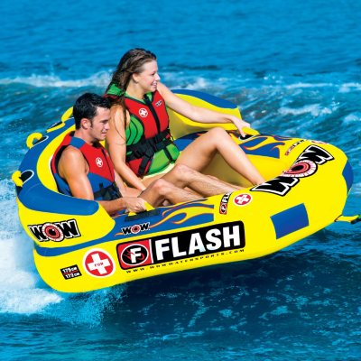 WOW Flash 2 Person Towable.  Ends: Aug 3, 2015 7:00:00 AM CDT