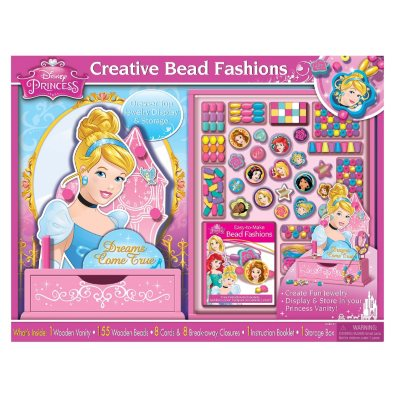 Disney Princess Wooden Bead Set and Jewelry Stand.  Ends: May 4, 2016 12:35:00 AM CDT