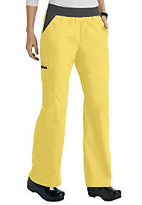 Cherokee Flexibles elastic waist scrub pants.