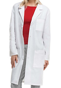 Cherokee 40 inch unisex lab coat with Certainty.