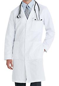 Meta men's 38 inch mid- length lab coat.