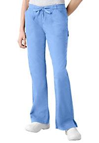Landau Twill Collection boot-cut scrub pants.