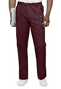 Landau mens banded stretch cargo scrub pants.