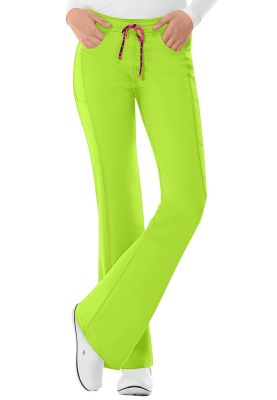 Heartsoul Love Potion Drawstring Scrub Pants - Lime Dream - PL