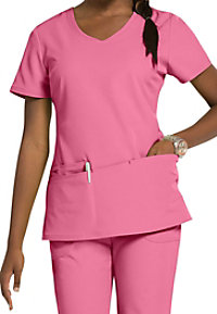 HeartSoul True Love v-neck scrub top.
