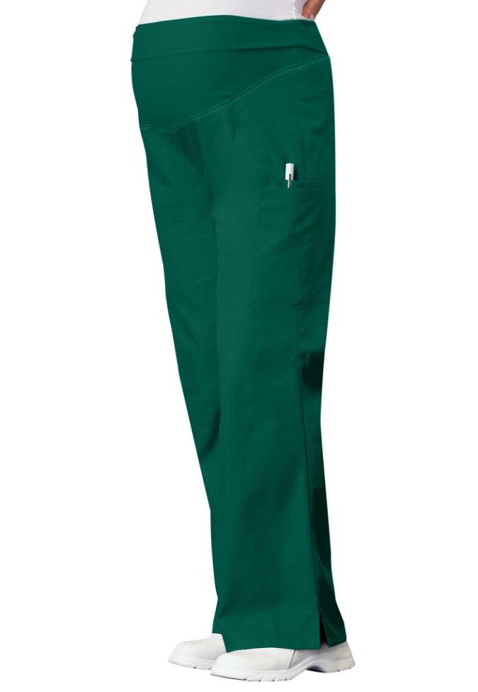 Cherokee Flexibles maternity flare-leg scrub pants.