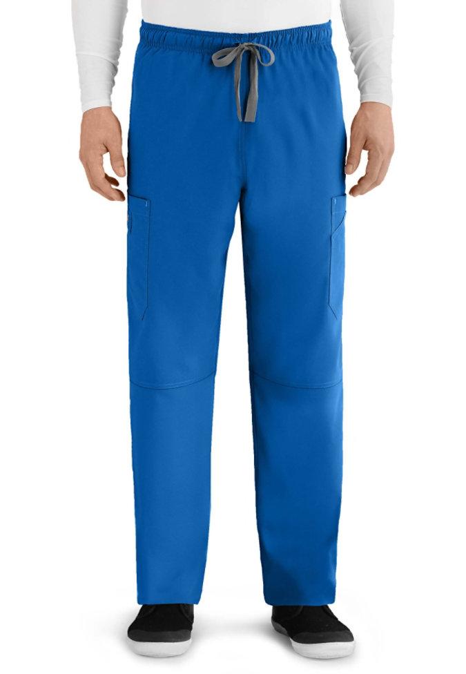 Greys Anatomy Derek 6-pocket mens cargo scrub pant.