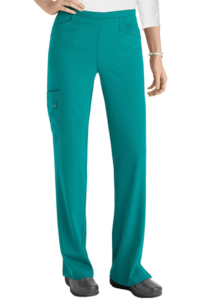 Greys Anatomy Signature April 5-pocket cargo scrub pant.