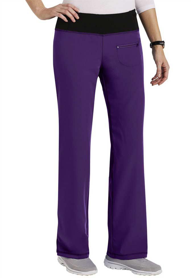 Jockey women's yoga scrub pants.