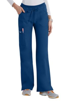 Cherokee Workwear Core Stretch Modern Fit Cargo Scrub Pants - Galaxy Blue - PL