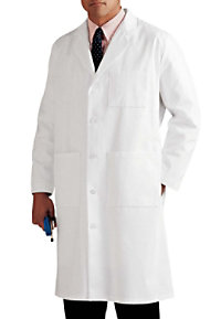 Landau mens five button lab coat.