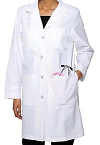 Landau 38 long ladies lab coat.