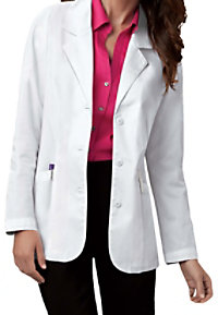 Cherokee twill lab coat with Certainty.