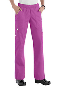 Cherokee Workwear Core Stretch comfort waist cargo scrub pants.