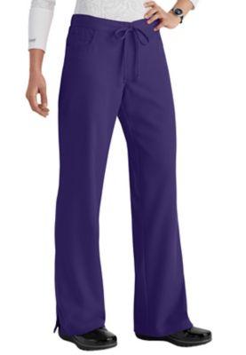 Greys Anatomy 5-Pocket Drawstring Scrub Pant - Purple rain - S 4232