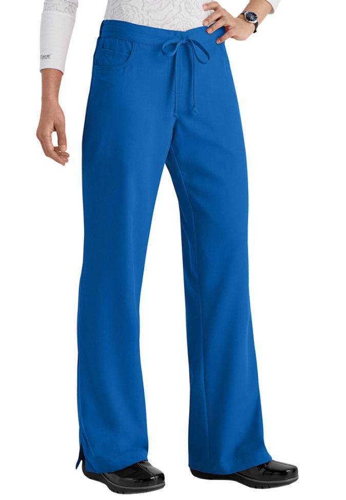 Greys Anatomy 5-pocket drawstring scrub pants.