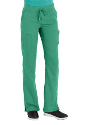 Greys Anatomy 6 pocket scrub pant. - Tropic Jade - XS 4277