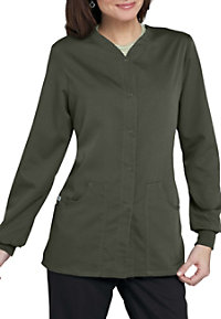 Greys Anatomy v-neck scrub jacket.