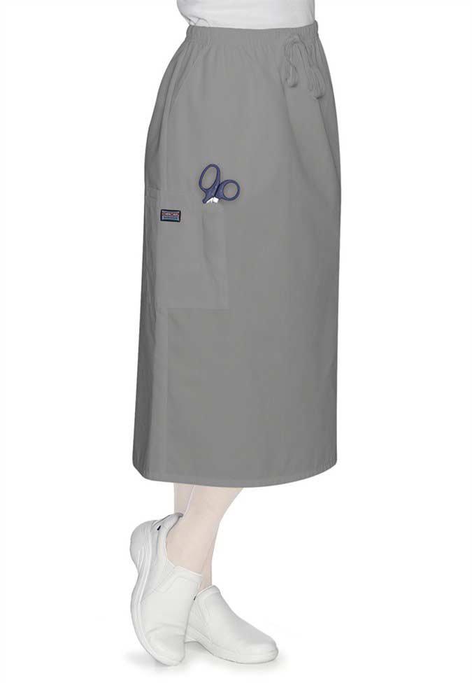 Cherokee Workwear 30 inch drawstring skirt.