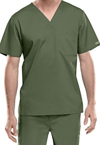 Cherokee Workwear Core Stretch mens v-neck top.