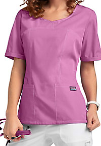 Cherokee Workwear princess seam scrub top.
