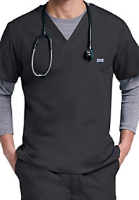 Cherokee Workwear Mens v-neck scrub top.