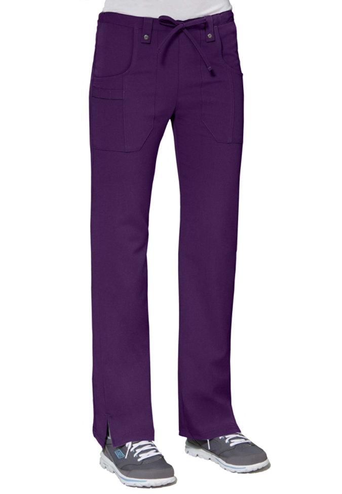 Dickies Xtreme Stretch mid rise slim drawstring scrub pants.