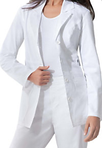 Dickies Gen Flex Youtility consultation length lab coat.