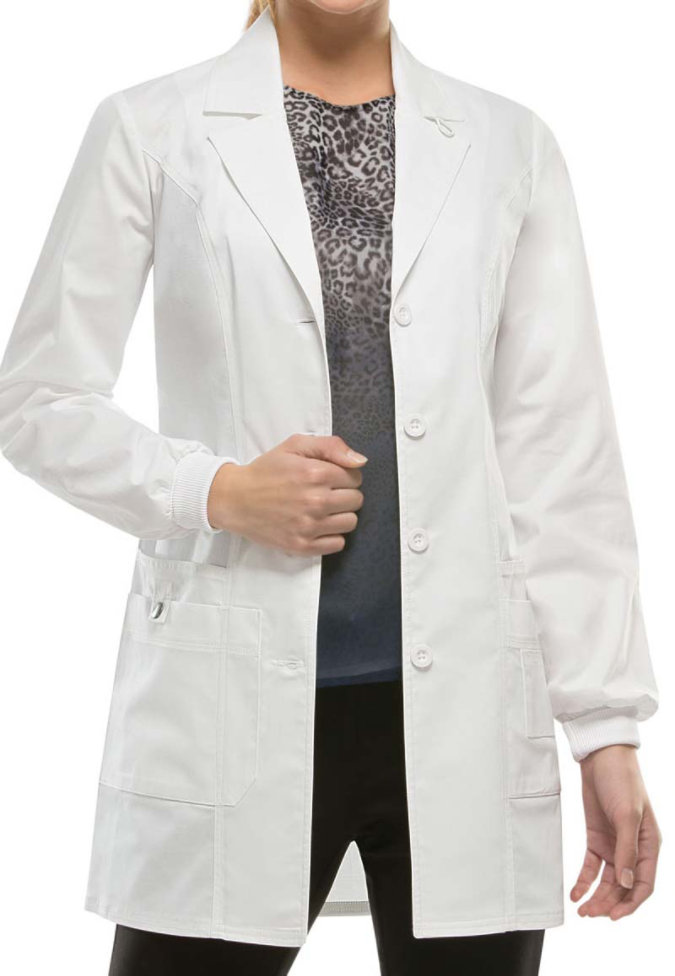 Dickies Gen Flex Junior fit 32 inch Lab Coat.