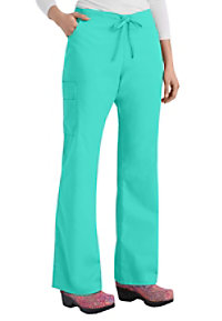 Dickies EDS Signature drawstring cargo scrub pants with Certainty.
