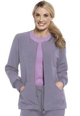 Med Couture Gold warm-up scrub jacket. 8658