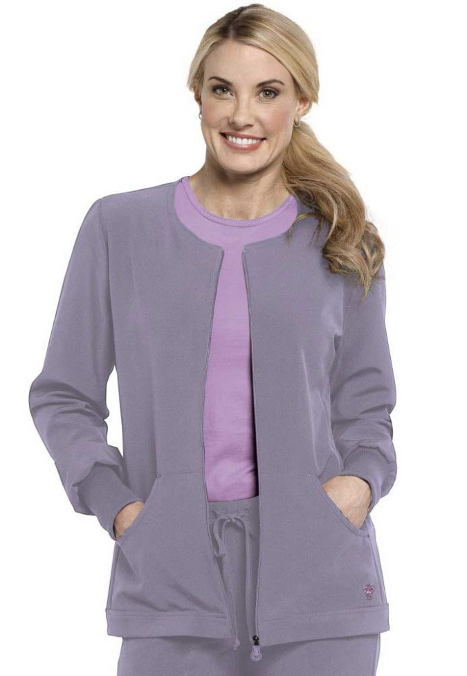 Med Couture Gold warm-up scrub jacket.