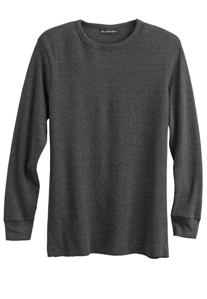 Branded Bull mens lightweight thermal tee.