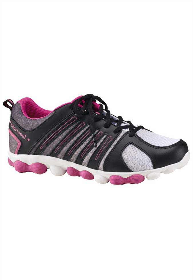 HeartSoul Twisted Love athletic shoes.