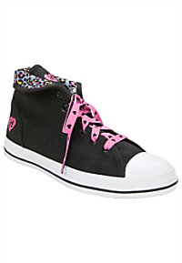 HeartSoul Toughlove high top sneaker.