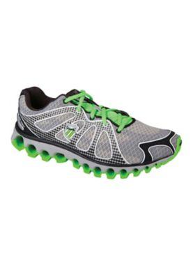 K-Swiss 130 Tubesrun Mens Athletic Shoes - Gray/Black/Scream Green - M8.5