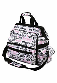 Nurse Mates Limited Edition Pink Ribbon print ultimate nursing bag.