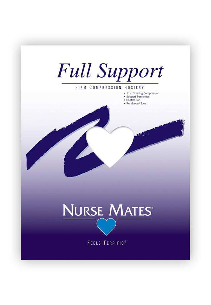 Nurse Mates full support firm compression hosiery.