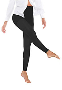 Therafirm light support women's opaque footless tights.