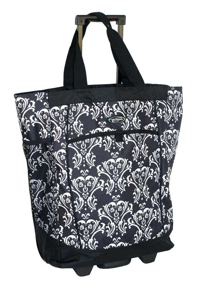 Olympia rolling carry-all tote bag.