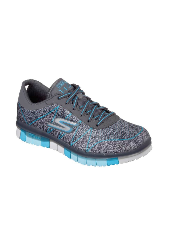 Skechers GO Flex Ability athletic shoes.